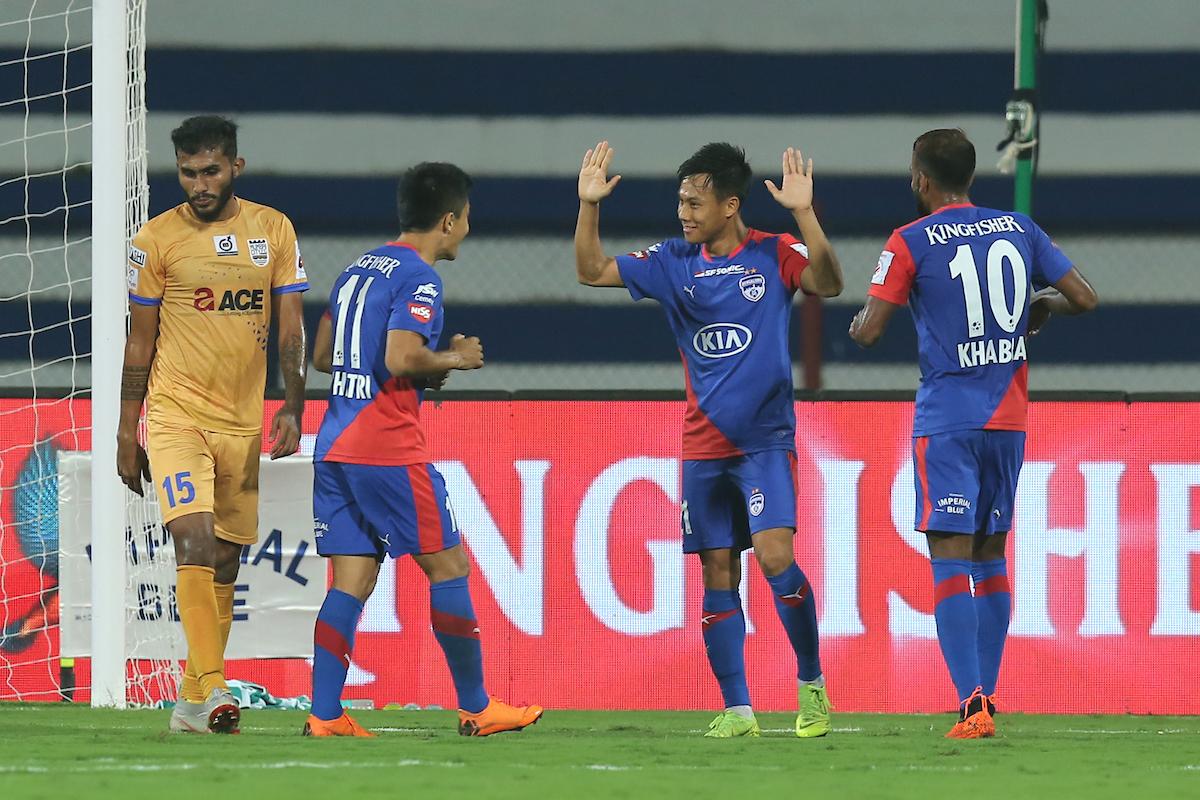 Udanta Bengaluru FC Mumbai City FC ISL