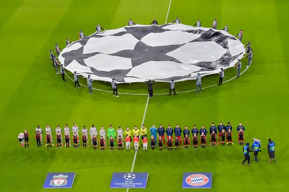 18-19シーズンのUEFAチャンピオンズリーグ リヴァプール対バイエルン