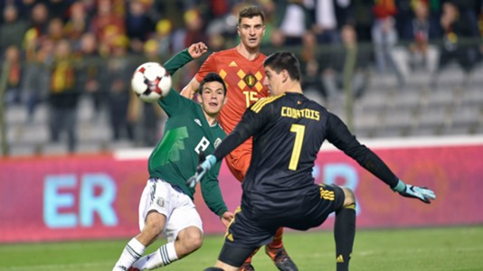Hirving Lozano Mexico Thibault Courtois Belgium