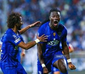 Bafetimbi Gomis Al Hilal Saudi Professional League