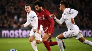 Mohamed Salah PSG Liverpool UEFA Champions League 28112018