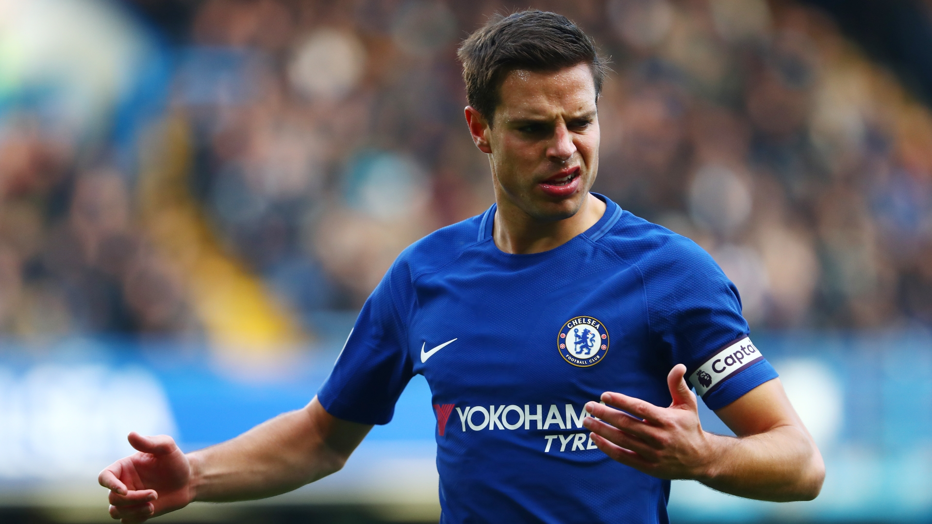 Cesar Azpilicueta: 'Nobody is guaranteed a place'