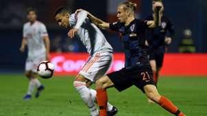 croatia spain - uefa nations league - vida rodrigo - 15112018