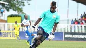 Gabriel Andika of AFC Leopards v Homeboyz.