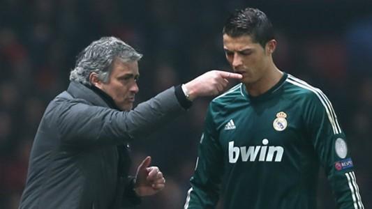 Jose Mourinho Cristiano Ronaldo Real Madrid