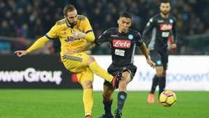 Allan Higuain Napoli Juventus