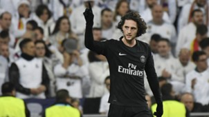 Adrien Rabiot Real Madrid PSG Champions League 14022018