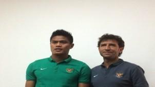 Fachruddin Wahyudi - Luis Milla - Timnas Indonesia