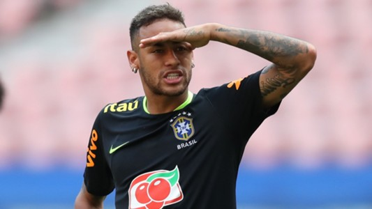 Neymar Brazil Selecao treino 03092017
