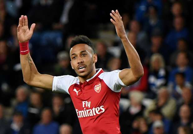 f387cb806 Arsenal s away-day misery drags on but Auba   AMN give Gunners hope for next