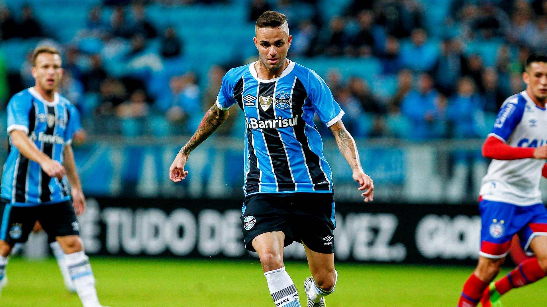 Luan Guilherme Gremio Bahia Brasileirao Serie A 12062017
