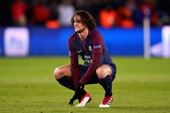 Adrien Rabiot PSG Real Madrid