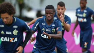 Vinicius Junior treino Flamengo 2018