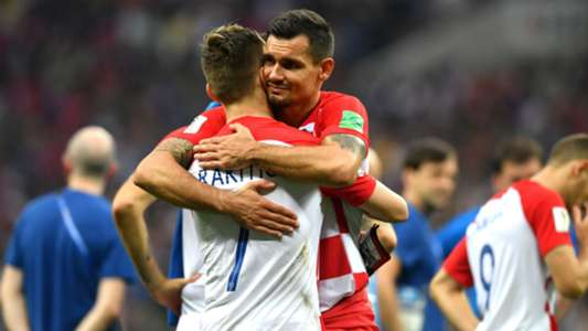 france croatia - dejan lovren ivan rakitic - world cup - 15072018