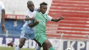 Said Tsuma of Thika United v Francis Kahata of Gor Mahia.j
