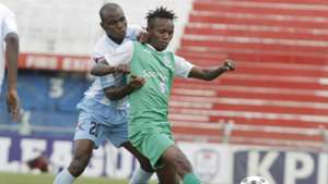 Said Tsuma of Thika United v Francis Kahata of Gor Mahia.j