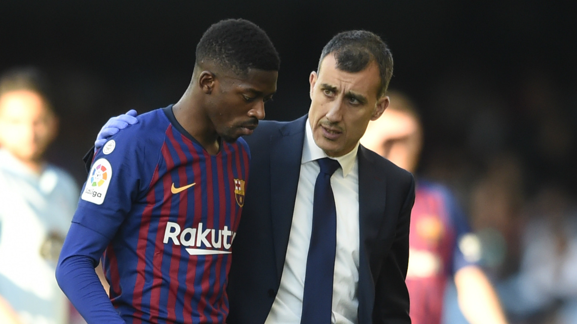 Dembele to miss Barcelona's Champions League trip to Liverpool