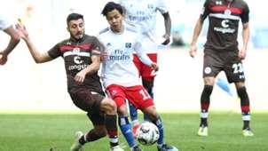 Hamburg HSV St. Pauli Ito Cenk Sahin 30092018