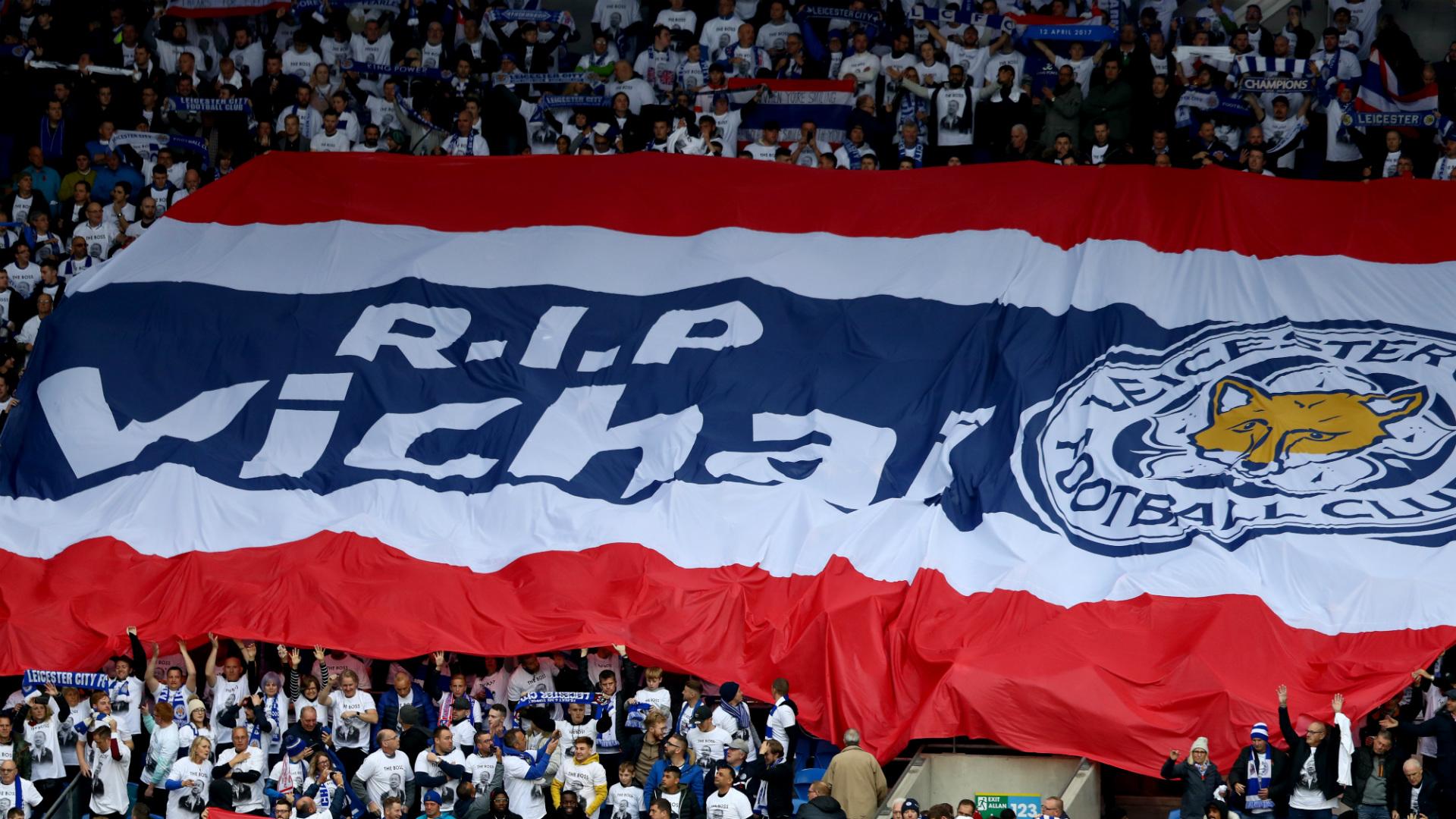 Leicester City Cardiff City Vichai Srivaddhanaprabha tribute