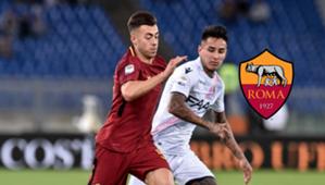 Roma - Bologna - Erick Pulgar 2017