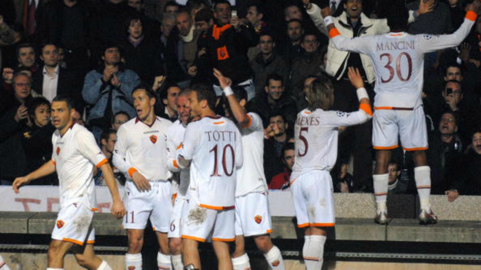 Lione Roma Champions League