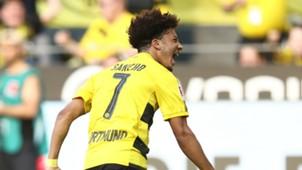 Jadon Sancho Borussia Dortmund Bayer Leverkusen