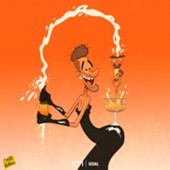 Cartoon Neymar the Kim Kardashian of football