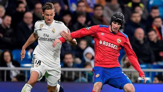 Marcos Llorente Mario Fernandes Real Madrid CSKA UCL 12122018