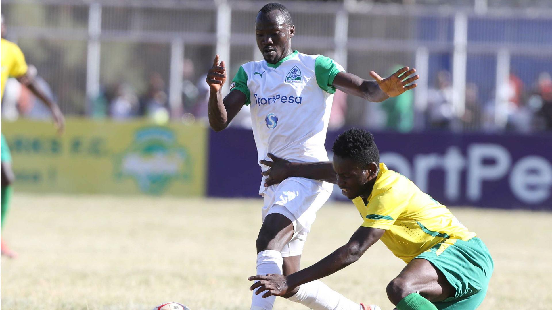 Godfrey Walusimbi in action against KSharks