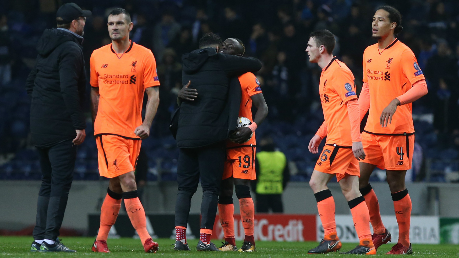 Liverpool Lovren Van Dijk