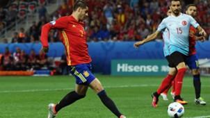 Alvaro Morata Spain Turkey Euro 2016