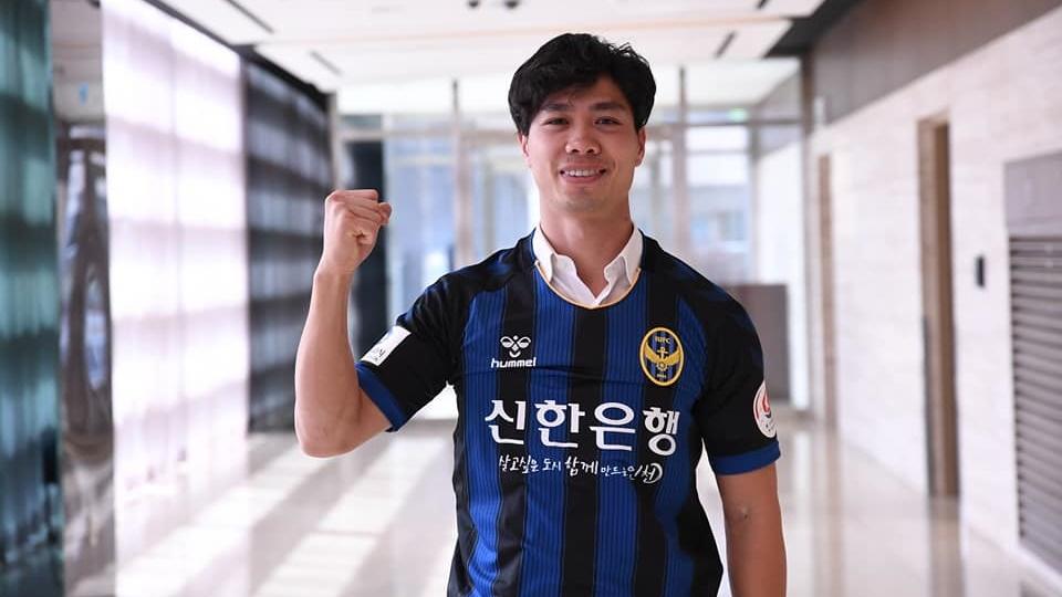 Nguyen Cong Phuong Incheon United K League 2019
