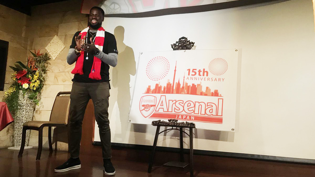 Eboue Arsenal Japan