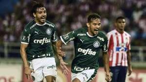 Gustavo Scarpa Ricardo Goulart Junior Palmeiras Copa Libertadores 06032019