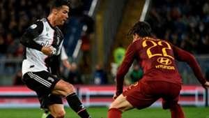 Roma Juventus cristiano ronaldo zaniolo 2019