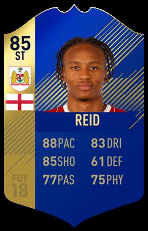 FIFA 18 EFL Team of the Season Reid