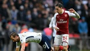 Hector Bellerin Harry Kane Arsenal Tottenham