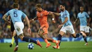 Memphis Depay vs. Manchester City