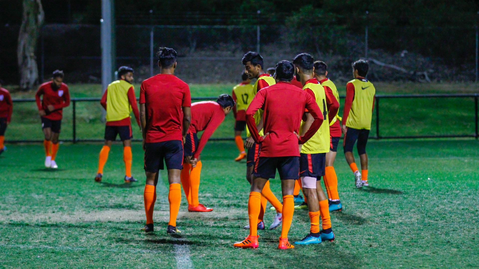 Indian national team training in Australia