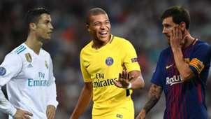 Ronaldo Mbappe Messi
