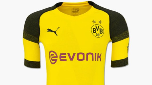 Borussia Dortmund home kit 2018-19
