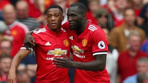 Romelu Lukaku na Anthony Martial