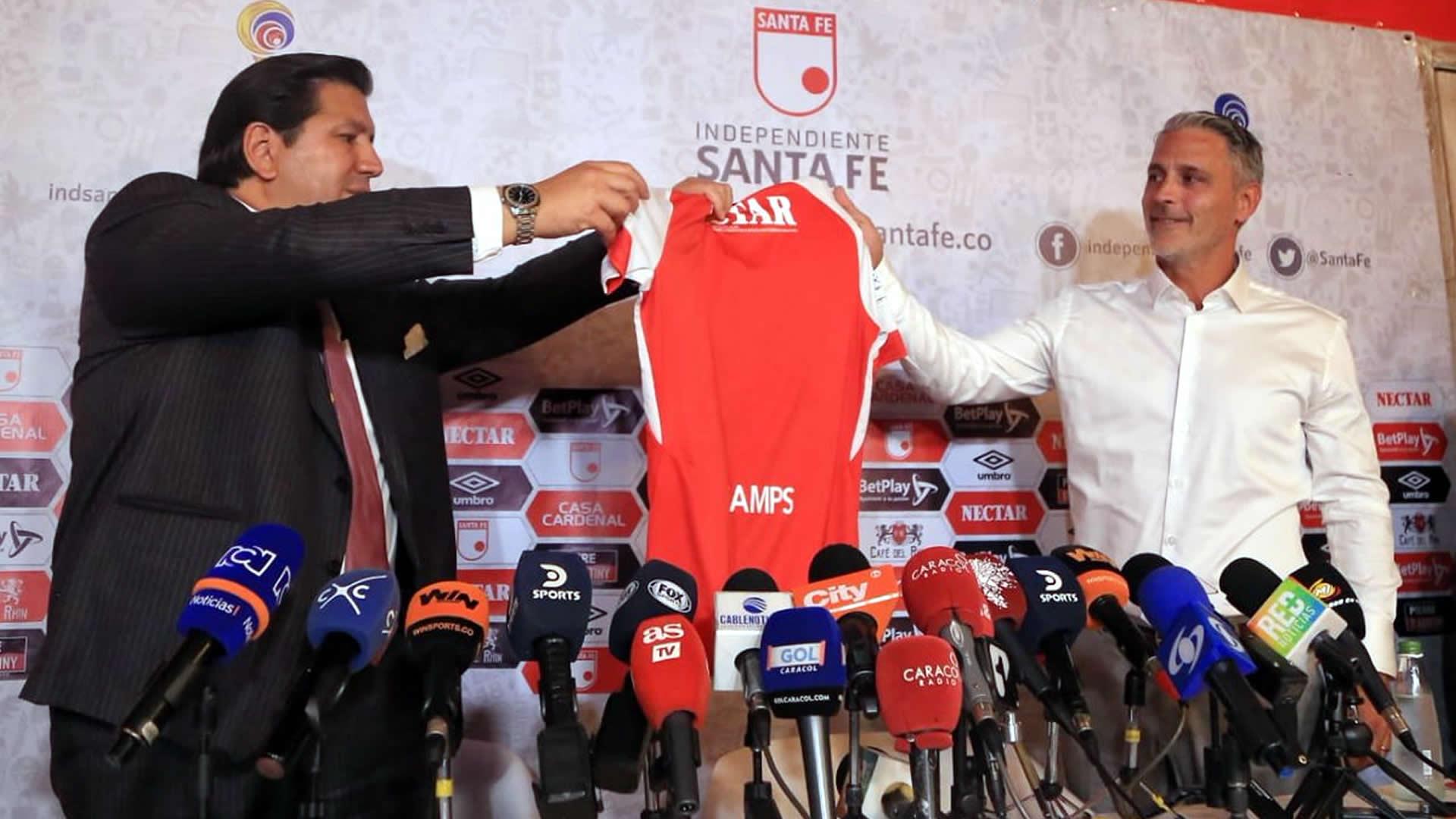 Patricio Camps Independiente Santa Fe Liga Águila 2019