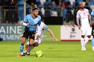 Haris Belkebla Tours Ligue 2