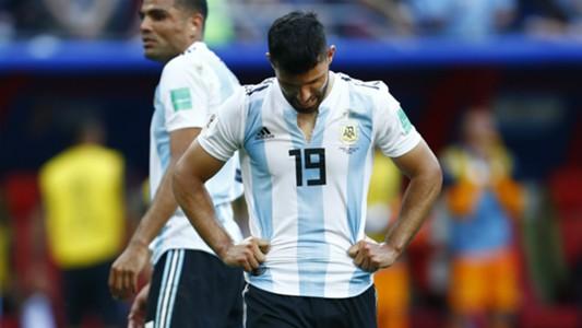 Sergio Aguero Argentina France WC Russia 30062018