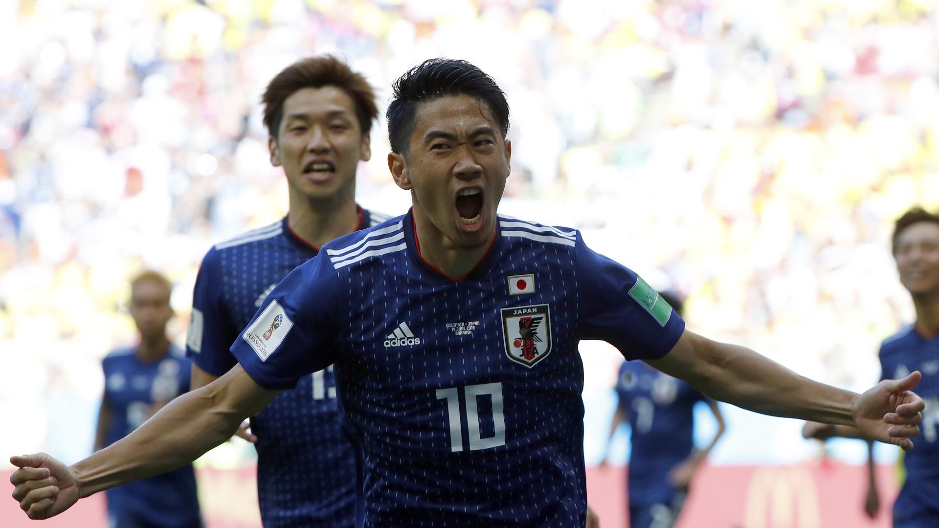 Shinji Kagawa Japan Colombia World Cup 19062018