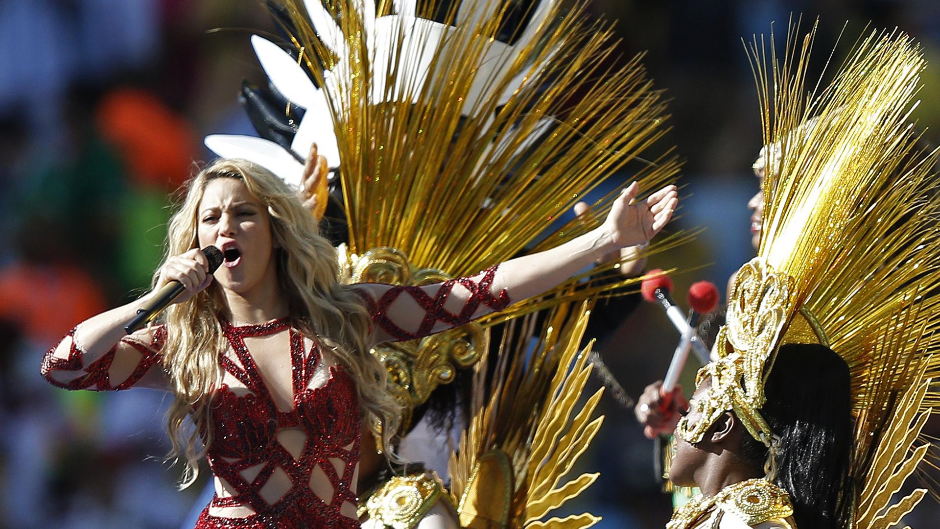 Shakira World Cup 2014 Brazil