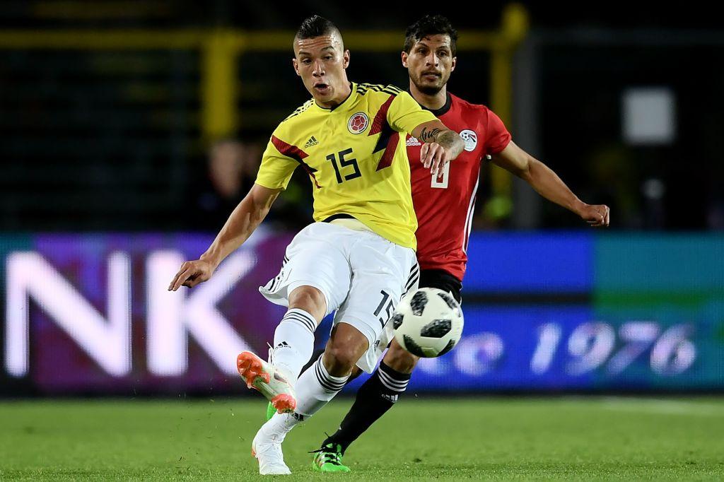 Mateus Uribe Colombia vs Egipto 01062018