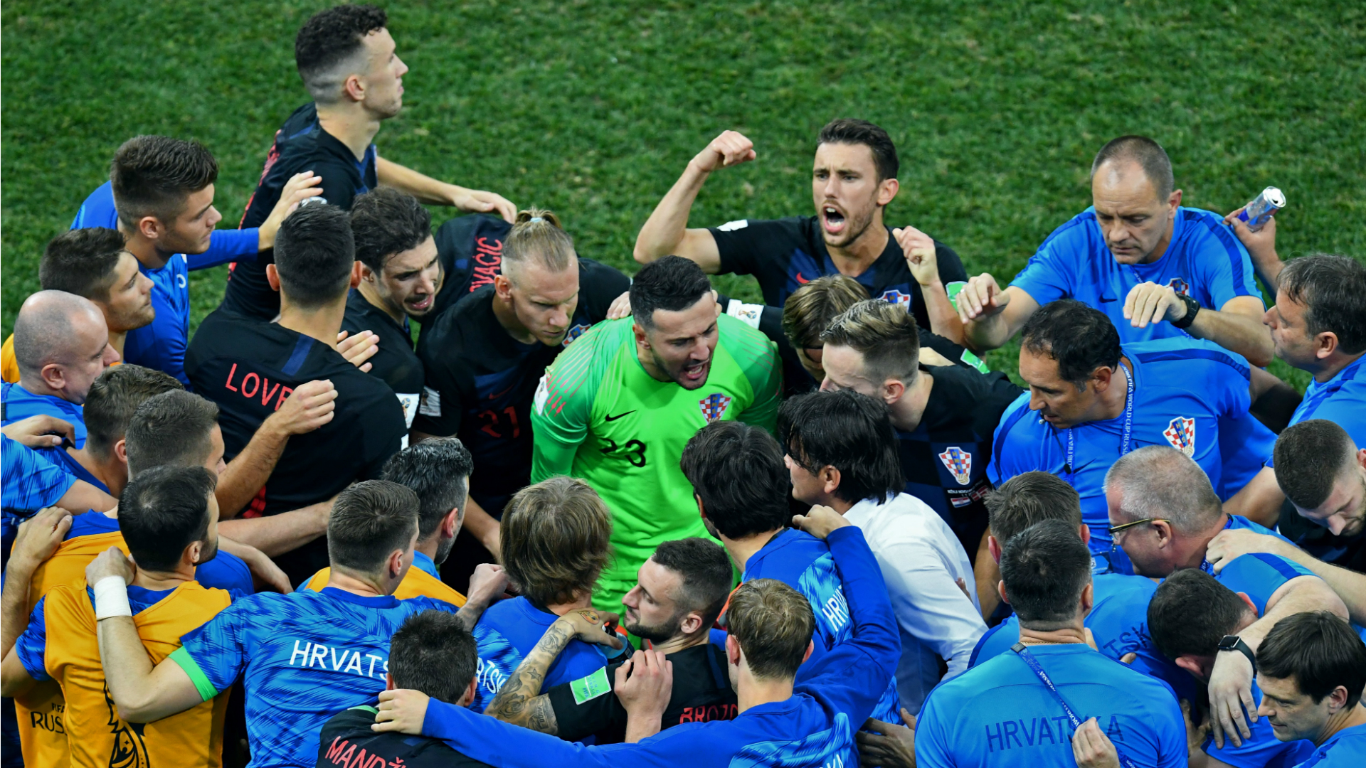 Croatia Denmark World Cup 01072018