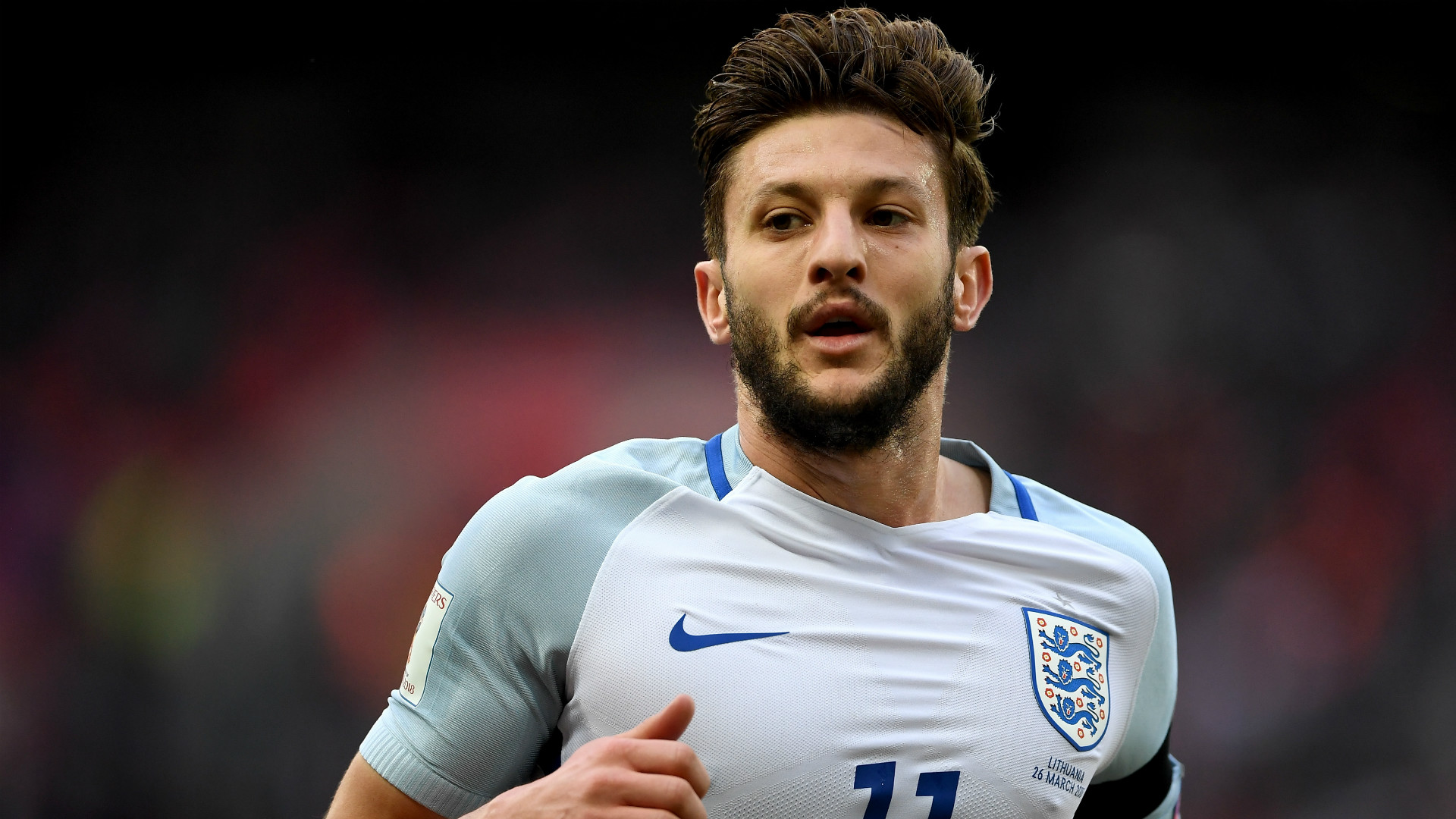 Adam Lallana England World Cup qualifying